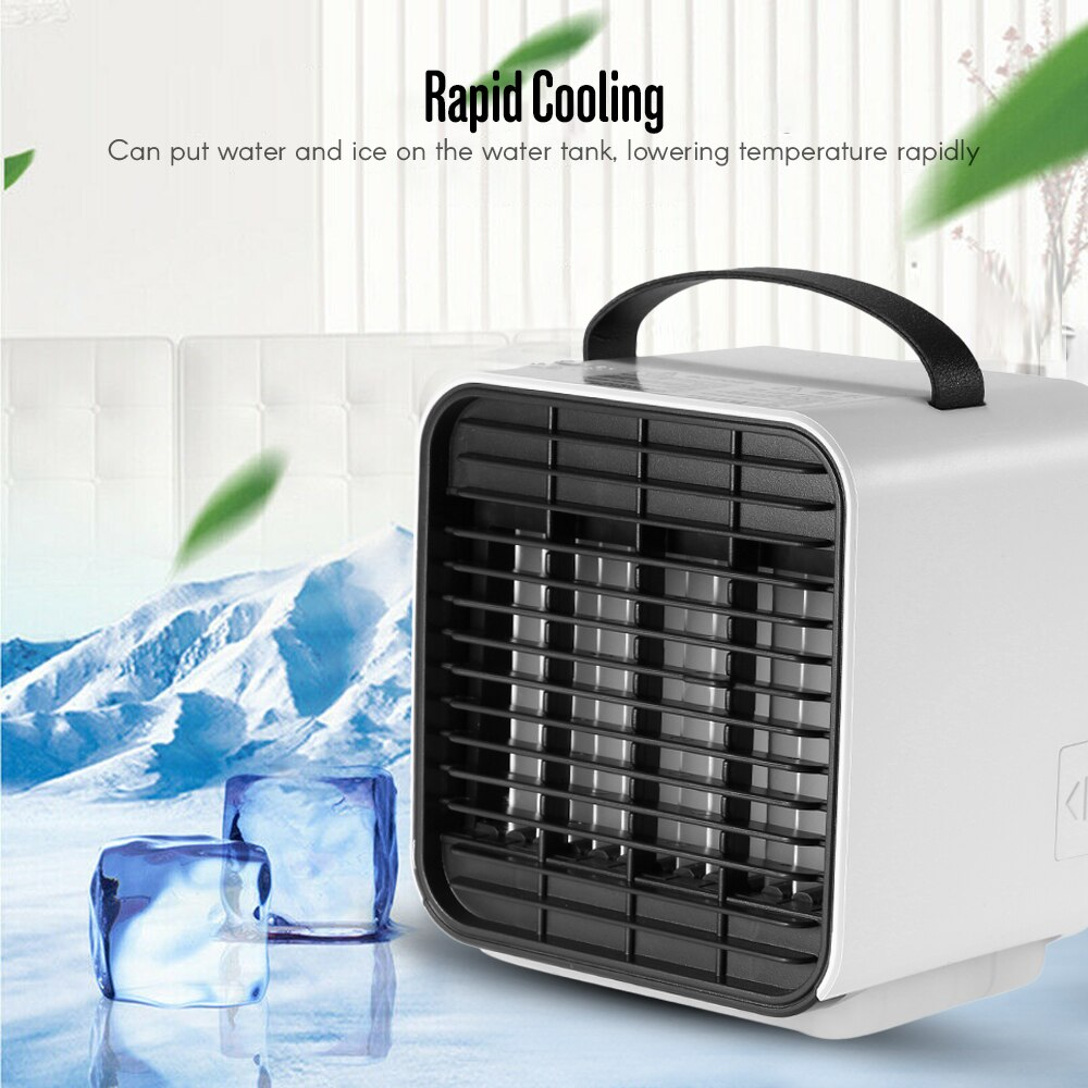 Portable Mini Air Conditioner Negative Ion Fan Cooler