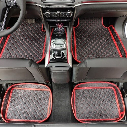 ZHAOYANHUA Universal Car Floor Mats Car Fit LHD And RHD
