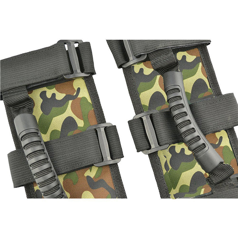 SITAILE Car Armrest Camouflage Roll Bar Mount Side Grab Handles Off Road Accessories for Jeep Wrangler JK CJ TJ VAN Wholesales