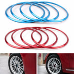 Areyourshop Car Wheel Hub Cover Decoration Circle Protection Stickers Covers for BMW X1 X3 X5 4PCS Car Styling Stickers