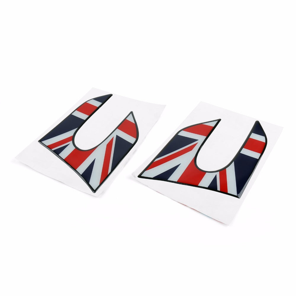 Areyourshop Car Vinyl Fender Side Scuttles Stickers Decal Covers for MINI Cooper F56 2014-2018 Car Auto Styling Stickers