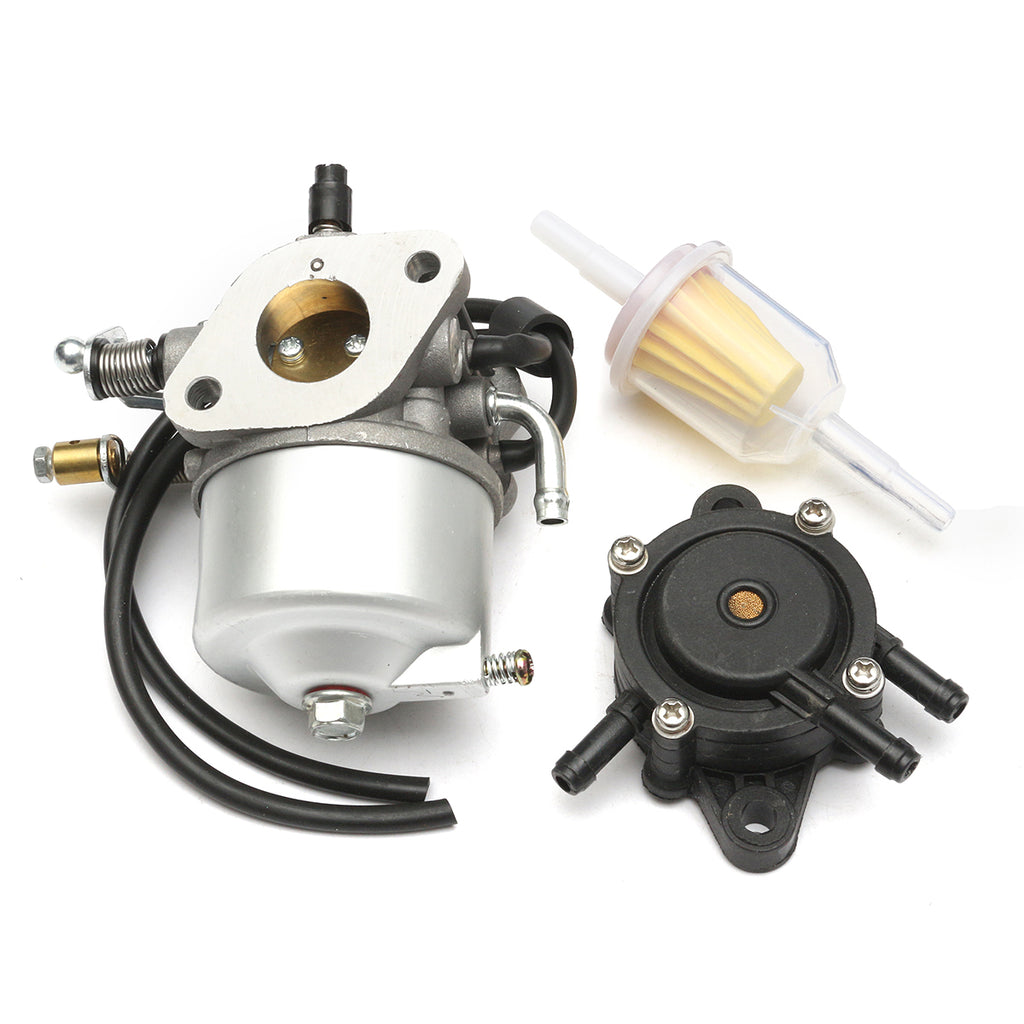 Replacement Carburetor Carb with Fuel Pump Fuel Filter for EZGO 295cc TXT GOLF Cart 4 CYCLE 72558-G02 603901 17553
