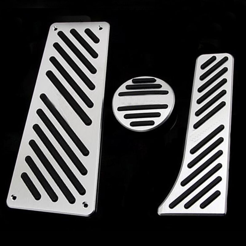 Car Accessory Accelerator Gas Brake Foot Rest Pedal Pad For Benz Smart Fortwo Elf 2009-2014 Pedals Pad Non-Drilling Pedals