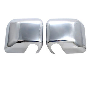 For Jeep Wrangler 2007-2017 ABS Chrome Car Plated Side Rear View Mirror Arm Cover Trims Car Styling Accessories