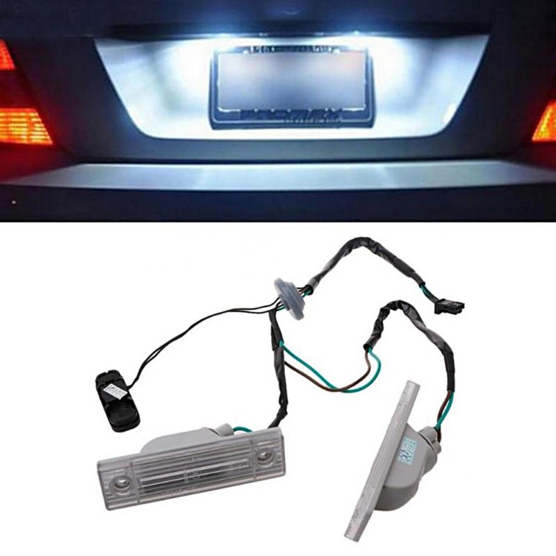 Rear Back license plate light with Trunk switch button For Chevrolet Cruze 2009-2014