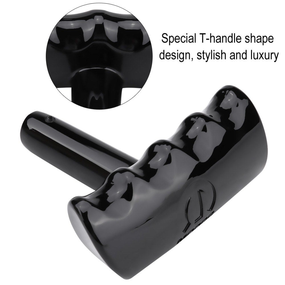 For Jeep Wrangler/Dodge Charger Challenger/Chrysler New Automatic T-Handle Shape Car Gear Shift Lever Knob Shifter Black
