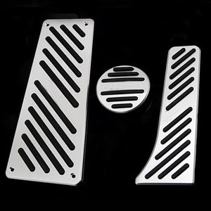 Car Accessories For Benz Smart Fortwo Elf 2009-2014 Aluminum Gas Brake Accelerator Foot Rest Pedal Pad,Styling Sticker Cover