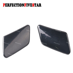 39876478 39876479 For Volvo C30 2008 2009 2010 Left Right Pair Front Bumper Headlight Washer Nozzle Cover Unpainted