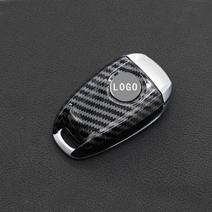 New Carbon Fiber ABS Key FOB Remote Cover Case For Alfa Romeo Giulia Stelvio 2017-2018 Key Case for Car Interior Accessories