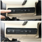1Pcs Carbon Fiber ABS Interior Trunk Switch Frame Cover Trim for Toyota Camry 2018 New Interior Accessories