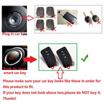 2018 New Fashion Carbon Fiber ABS Remote Smart Key Fob Holder Cover For Lexus ES300H 350 GS250 Key Case for Car Accessories