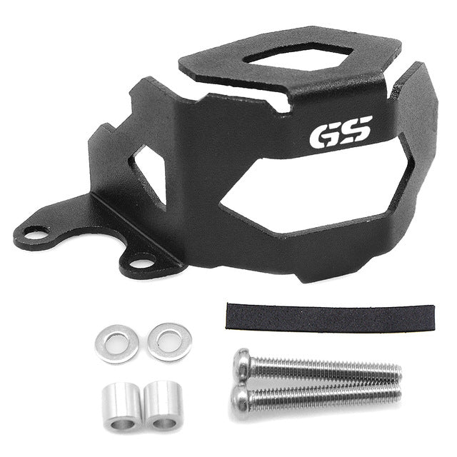 "YOWLING ""GS"" Laser LOGO Motorcycle Front Oil Cap Fluid Reservoir Tank cap Cover Guards Protector For BMW F800GS F700GS 2013-2016"