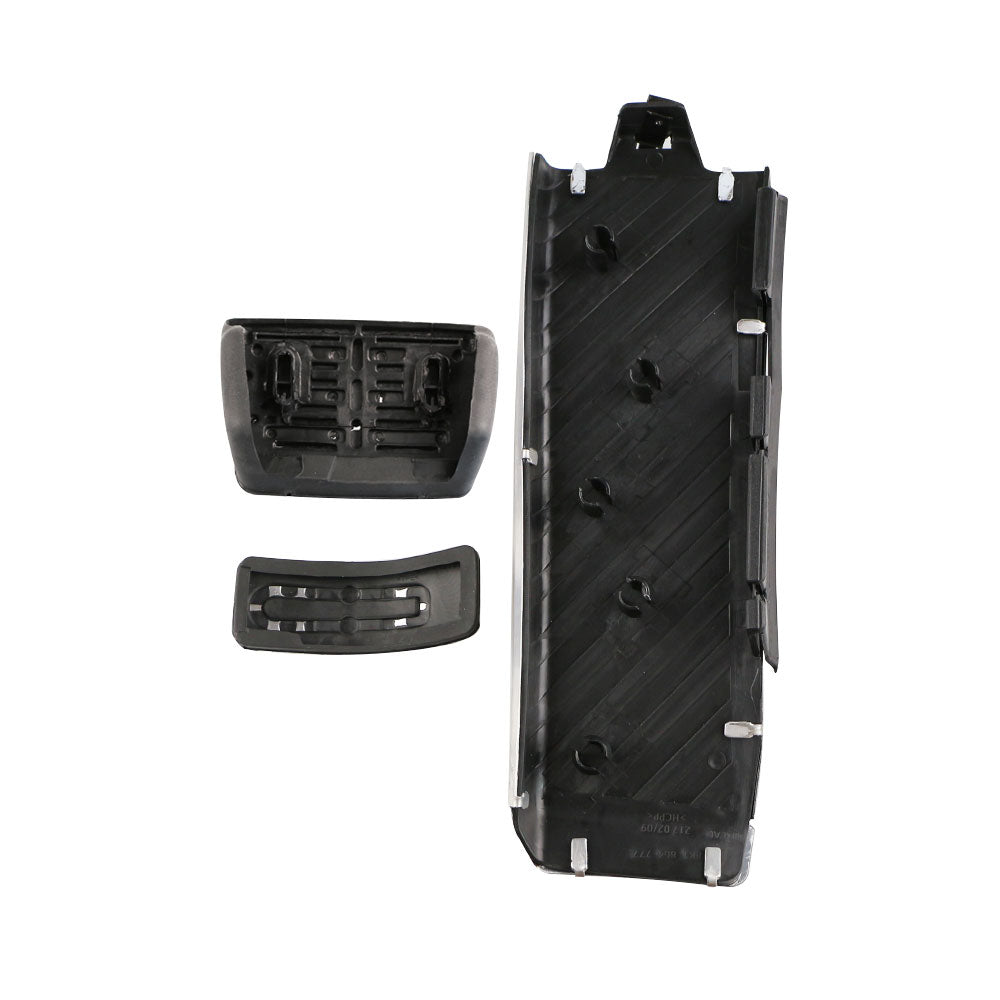 Carmilla Car Fuel Brake Footrest Pedal Cover Car Pedals for Audi A4L A6L A7 A8 S4 RS4 A5 S5 RS5 8T Q5 SQ5 8R LHD Parts