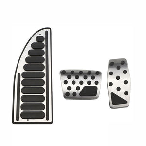 Car Accessories Accelerator Brake Pedal Kit Cover for Jeep Compass 2017 2018+ for Jeep Renegade 2015 2016 2017 + AT Styling