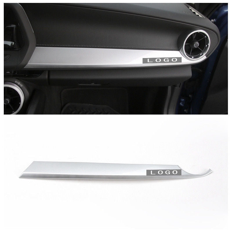 New Fashion ABS Dashboard Middle Console Cover Trim Sliver For Chevrolet Camaro 2017-2018 Interior Mouldings Accessories
