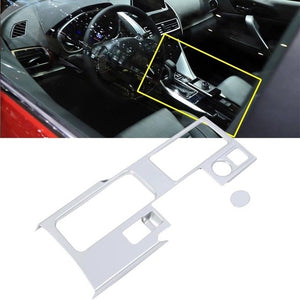 2018 New ABS Console Gear Shift Box Panel Cover Trim for Mitsubishi Eclipse Cross Interior Mouldings Accessories 1PCS