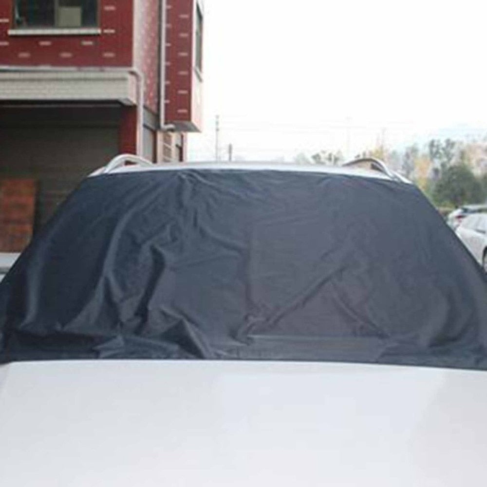 Car Exterior Protection Snow Blocked Car Snow Ice Protector Visor Sun Shade Fornt Rear Windshield Cover Block Shields