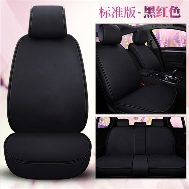 Lexus Rc 200: Pu Leather Cartoon Car Seat Cover Auto Seats Covers For
