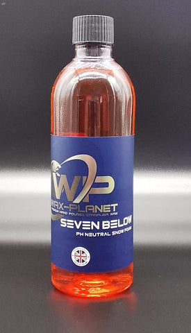 Seven Below Ph neutral Snow Foam - www.waxplanet.co.uk