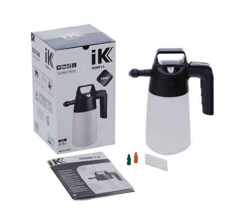 IK 1.5 Hand Foam Pressure Sprayer - www.waxplanet.co.uk