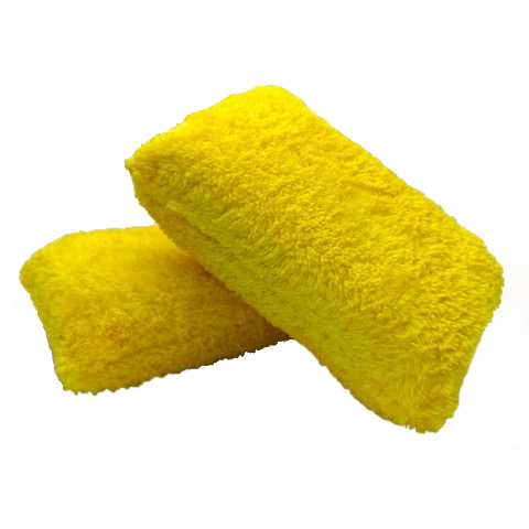 Korean Microfibre Applicator Pad - www.waxplanet.co.uk