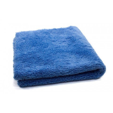 Korean 470 gsm Edgeless Buffing Cloth (blue) - www.waxplanet.co.uk