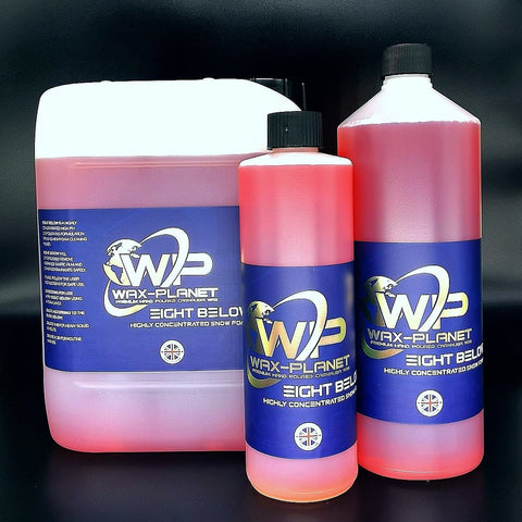 Eight Below Snow Foam Concentrate - www.waxplanet.co.uk