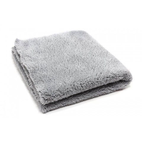 Korean 470 gsm Edgeless Buffing Cloth  (grey) - www.waxplanet.co.uk