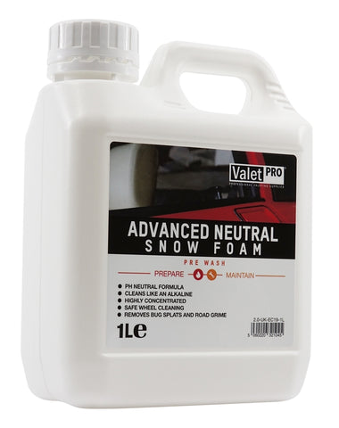 ValetPRO Advanced Neutral Snow Foam - www.waxplanet.co.uk