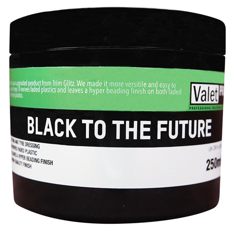 ValetPRO Black To The Future - www.waxplanet.co.uk