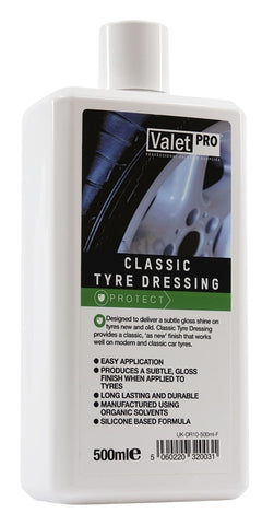 ValetPRO Classic Tyre Dressing - www.waxplanet.co.uk