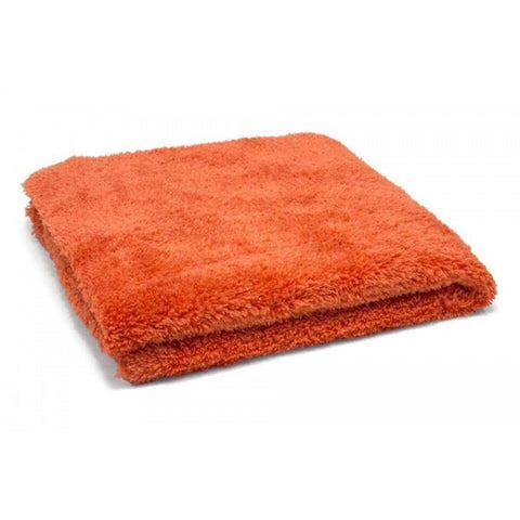 Korean 470 gsm Edgeless Buffing Cloth (orange) - www.waxplanet.co.uk
