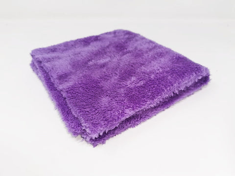 Korean Purple Wizard Edgeless Microfibre Towel 500gsm - www.waxplanet.co.uk