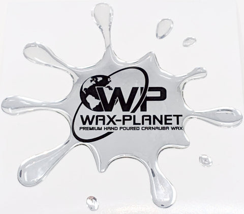 Bird Splat Gel Sticker - www.waxplanet.co.uk