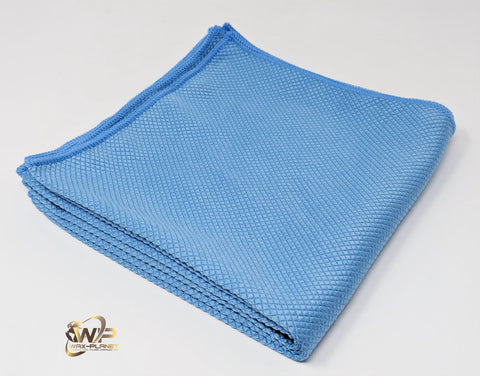 Fish Scale Glass Cleaning Cloth - www.waxplanet.co.uk