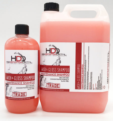 High Definition Detail TRADE Range - Wash & Gloss Shampoo