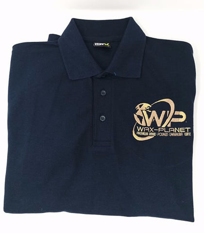Wax Planet Polo Shirt - www.waxplanet.co.uk