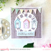 Birthday Beach Huts Card - Jo Herbert
