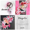 Magenta Creative Kit Scrapbooking Ideas
