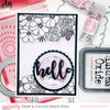 Hello Card - Ashleigh Freeston