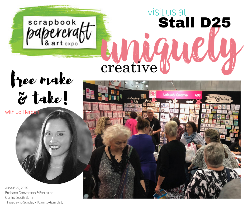 Uniquely Creative at the Brisbane Scrapbook Expo