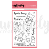 Hey Papa Photopolymer Stamp Uniquely Creative