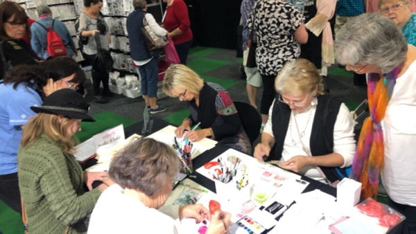 Make & Take at the Brisbane Scrapbooking & Papercraft Expo