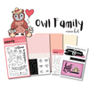 Owl Family Mini Kit