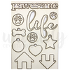 Pawesome Mini Laser Cut