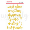 Title Stickers - Wish