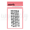 Code Mark Making Mini Stamp  - Acrylic Stamp