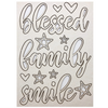 Blessed Family Laser Cut
