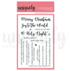 Christmas Sentiments Stamp