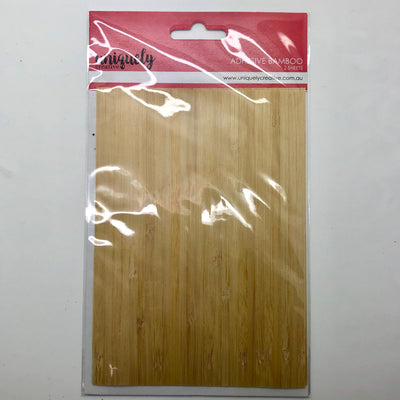 Uniquely Creative Adhesive Bamboo Sheets